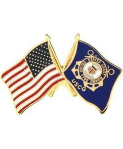 US-USCG FLAG Small Pin