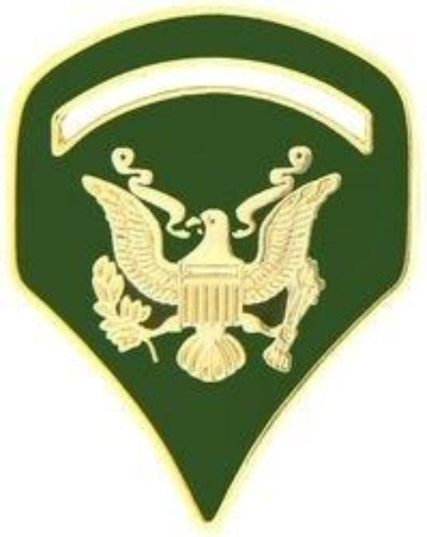 U.S. Army Specialist 5 Rank Insignia Pin - SPEC 5