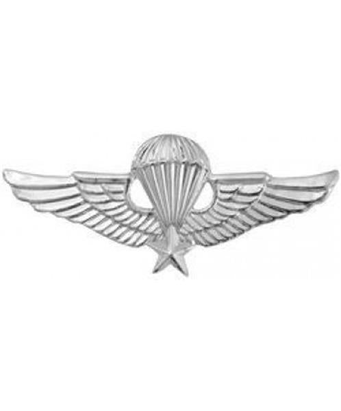 Miniature Vietnam Jump Wings Large Pin
