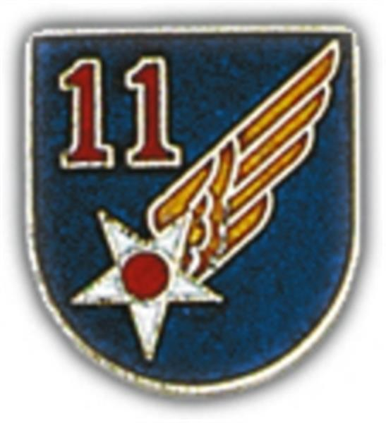 11th Air Force Small Pin