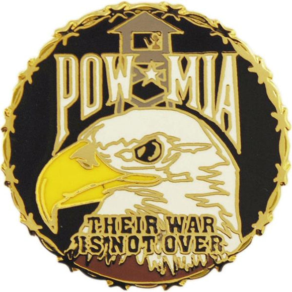 POW-MIA Pin - Their War Is Not Over
