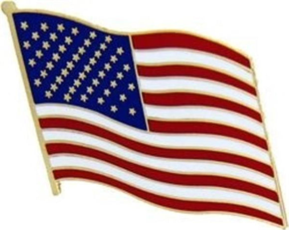 United States Flag Pin - Right