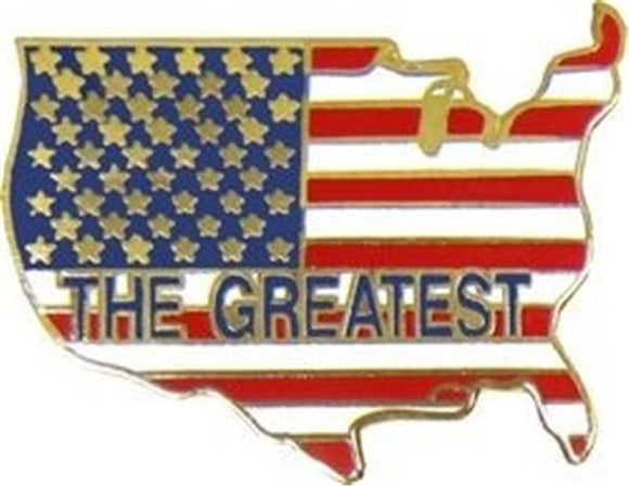 America The Greatest Pin