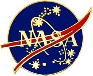 NASA Vector Logo Pin