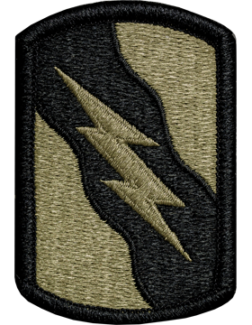 155th Armored Brigade Combat Team Multicam Patch