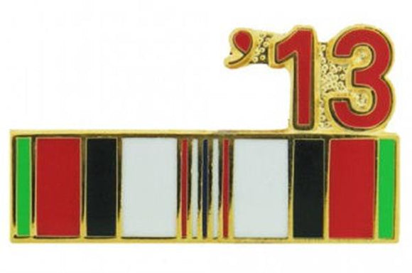 2013 Afghanistan Ribbon Pin