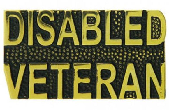 Disabled Veteran Pin