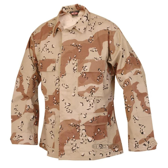 Military Uniform Supply BDU Jacket - 6 COLOR DESERT