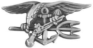 U.S. Navy Seal Insignia Pin - Military Lapel Pin