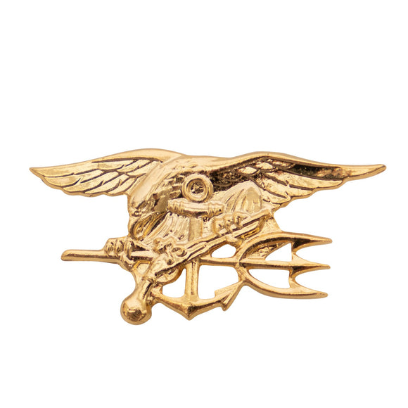 Rothco Navy SEAL Gold Trident Lapel Pin