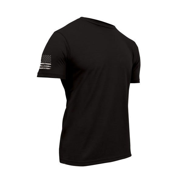 Rothco Tactical Athletic Fit T-Shirt Black