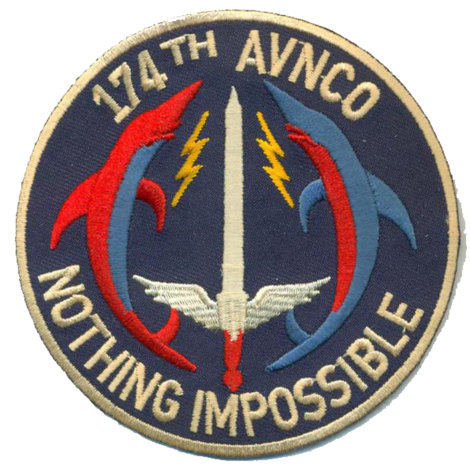 174th AVNCO USMC Patch - Nothing Impossible