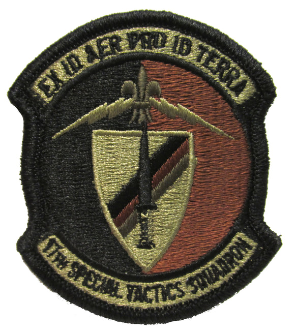 17th Special Tactics Squadron OCP Patch - Spice Brown