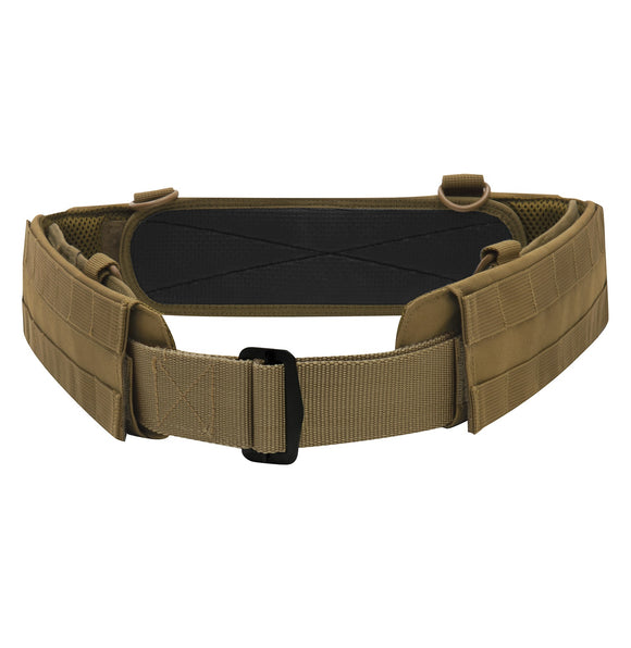 Rothco MOLLE Lightweight Low Profile Tactical Battle Belt Coyote Brown