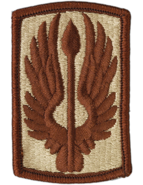 18th Aviation Brigade Patch Desert - Closeout Great for Shadow Box