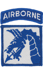 18th Airborne Corps Patch with Airborne Tab