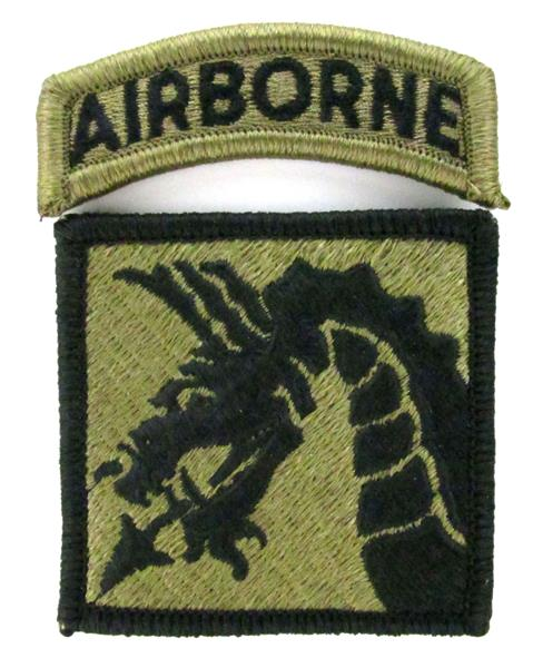 18th Airborne Corps OCP Patch with Airborne Tab