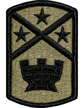 194th Engineer Brigade Army OCP Multicam & Trade Patch