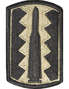 197th Infantry Brigade Subdued Patch - Closeout Great for Shadow Box
