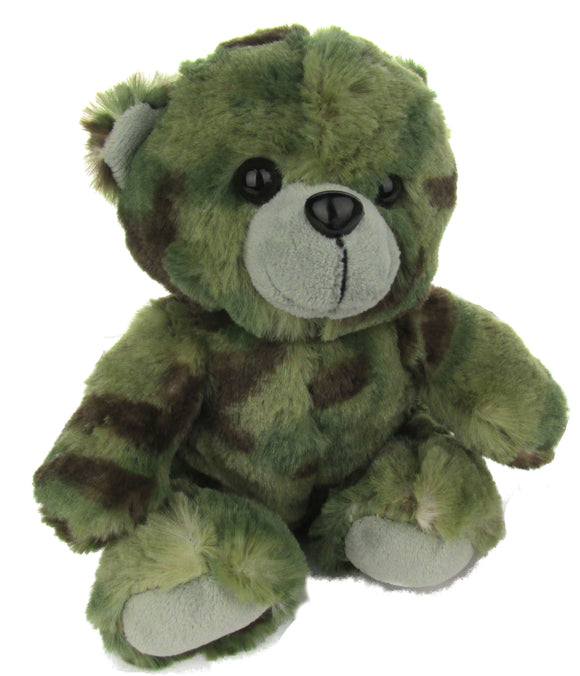 Stuffed Plush Toy Teddy Bear 7 Inch - Multicam OCP Camo