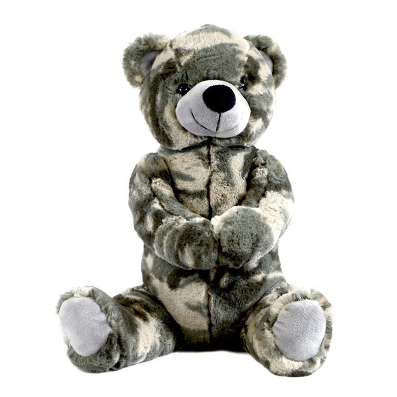 Stuffed Plush Toy Teddy Bear 12 Inch - ACU/ABU Foliage Green