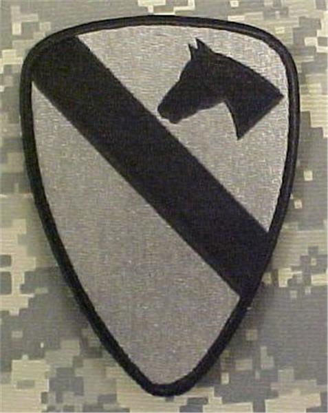 1st Cavalry ACU Patch - Foliage Green - Closeout Great for Shadow Box