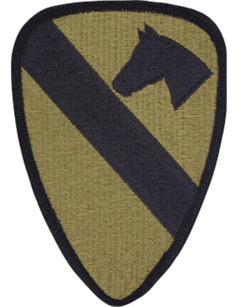 1st Cavalry Division Multicam  OCP Patch