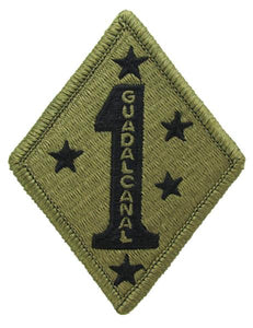 1st Marine Division OCP Patch GUADALCANAL - Scorpion W2