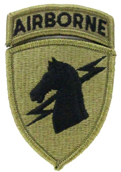 1st Special Operations Command OCP Patch with Airborne Tab
