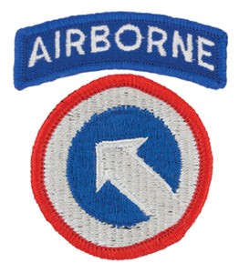 1st Support Command Patch with Airborne Tab