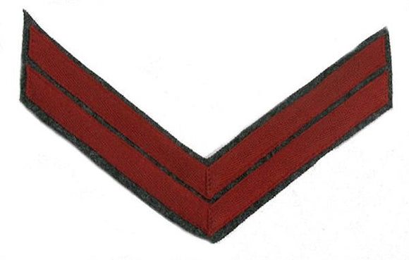 Civil War Confederate Rank Chevron - ARTILLERY