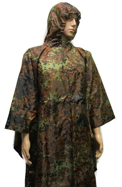 Military Uniform Supply Flecktarn Poncho