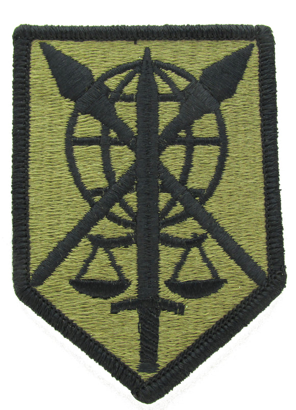 200th MP Command Military Police OCP Patch