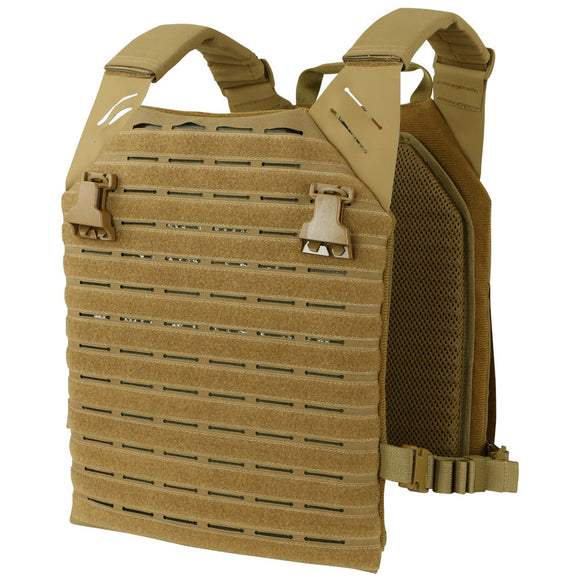 Condor LCS Vanquish Plate Carrier Coyote Brown