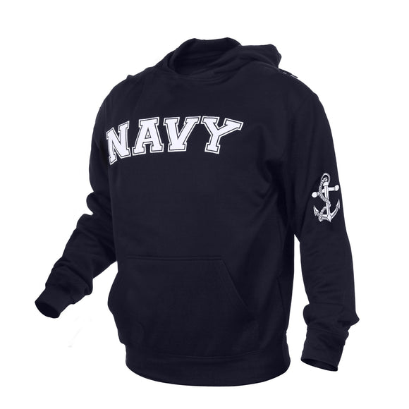 U.S. Military Embroidered Pullover Hoodies