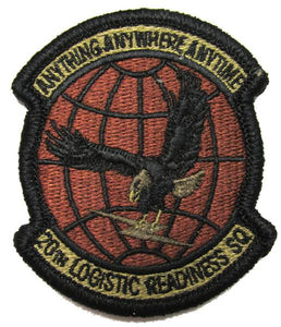 20th Logistics Readiness Squadron OCP Patch - Spice Brown