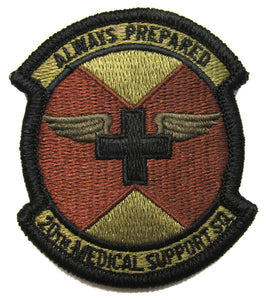 20th Medical Support Squadron OCP Patch - Spice Brown