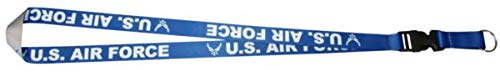 Mitchell Profitt U.S. Air Force Sublimated Imprint on Removable Clasp Lanyard