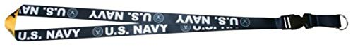 Mitchell Profitt U.S. Navy Sublimated Imprint on Removable Clasp Lanyard