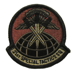 21st Special Tactics Squadron OCP Patch - Spice Brown