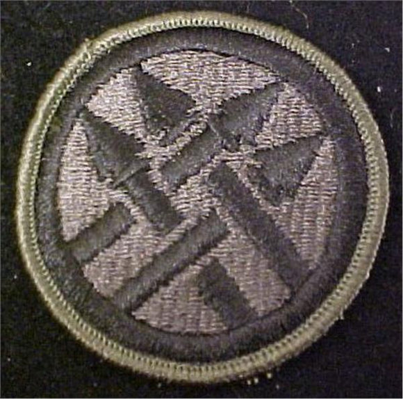 220th MP Brigade Subdued OD Patch - Army BDU Subdued CLOSEOUT Buy Now and Save !