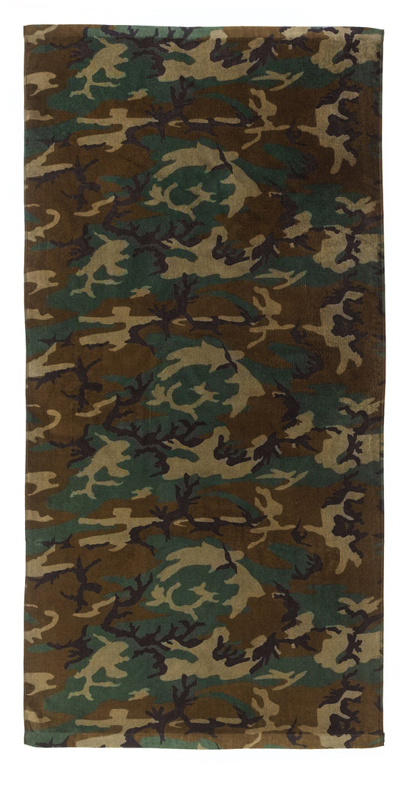 Rothco Woodland Beach Towel