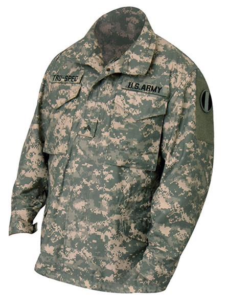 Tru-Spec M65 Field Jacket with Liner - ACU DIGITAL