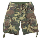 Rothco Vintage Camo Infantry Utility Shorts - Various Colors