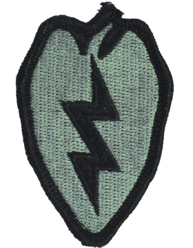 25th Infantry Division ACU Patch  - Closeout Great for Shadow Box