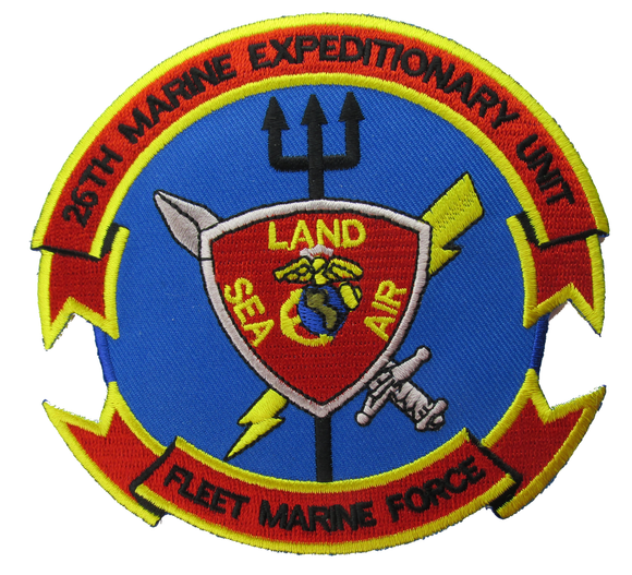 26th Marine Expeditionary Unit - Fleet Marine Force USMC Patch