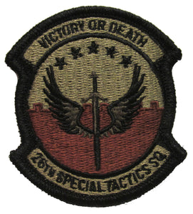 26th Special Tactics Squadron OCP Patch - Spice Brown