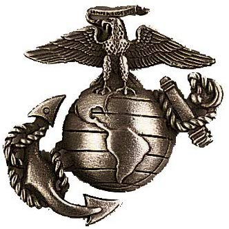 USMC Eagle Globe & Anchor Hat Pin