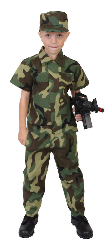 Rothco Kids Camouflage Soldier Costume