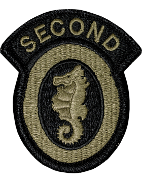 2nd Engineer Brigade OCP Multicam Army Patch